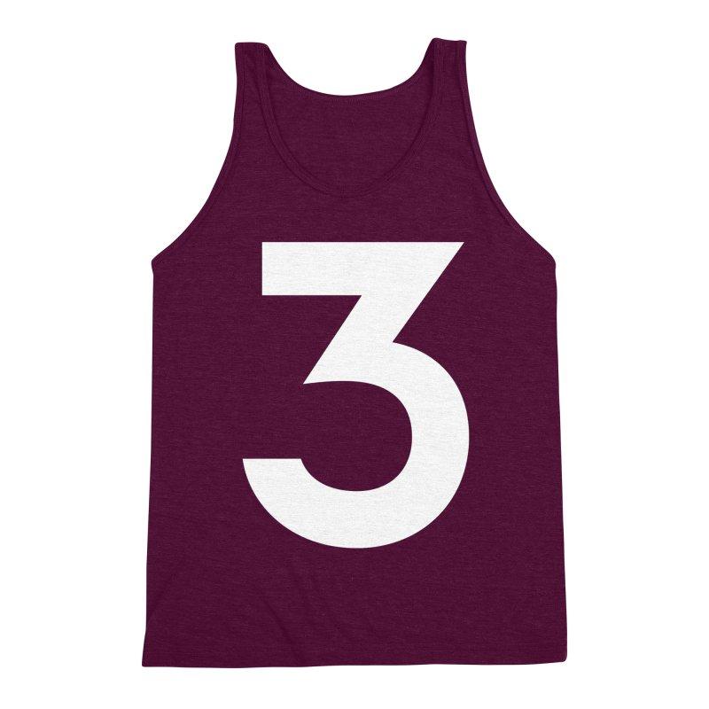 Three Men's Triblend Tank by Shane Guymon