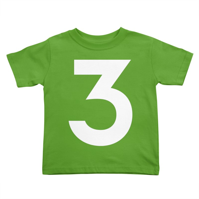 Three Kids Toddler T-Shirt by Shane Guymon Shirt Shop