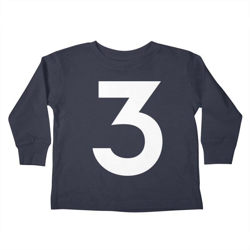 Three Kids Toddler Longsleeve T-Shirt by Shane Guymon