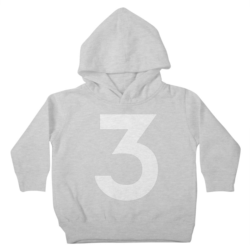 Three Kids Toddler Pullover Hoody by Shane Guymon