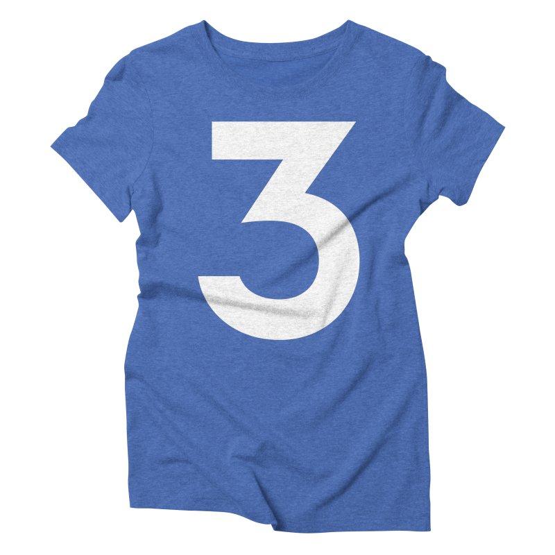 Three Women's Triblend T-Shirt by Shane Guymon