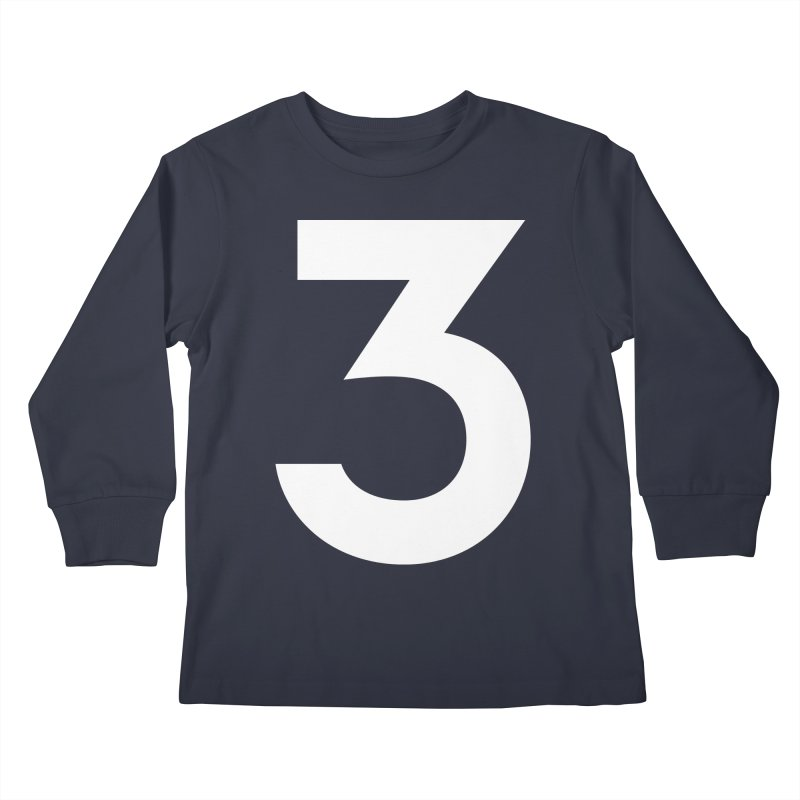 Three Kids Longsleeve T-Shirt by Shane Guymon
