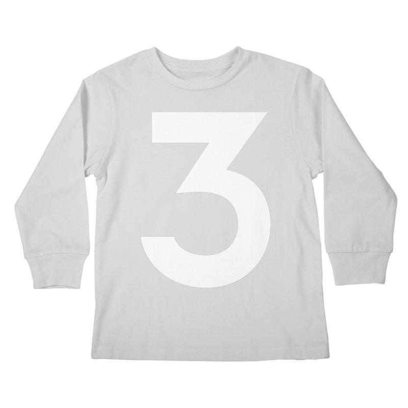 Three Kids Longsleeve T-Shirt by Shane Guymon