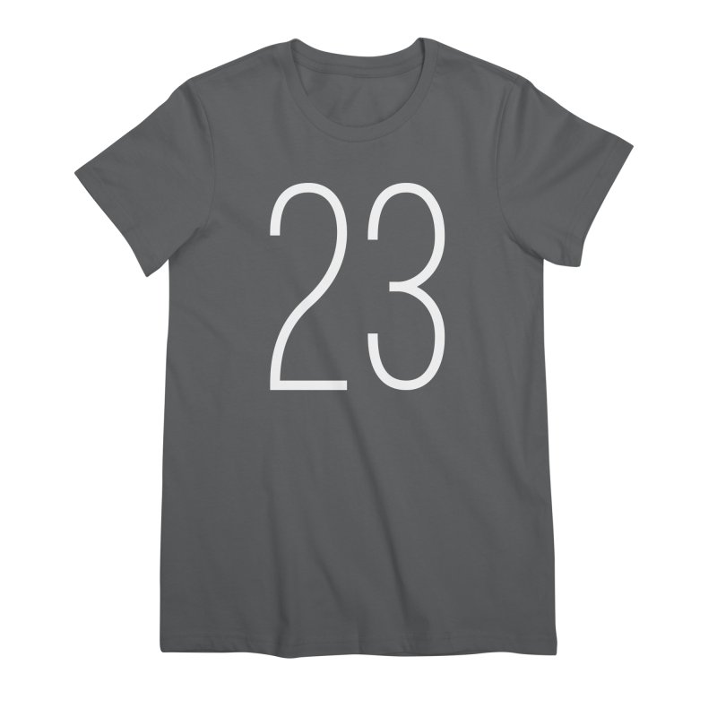 Twenty Three Women's T-Shirt by Shane Guymon Shirt Shop