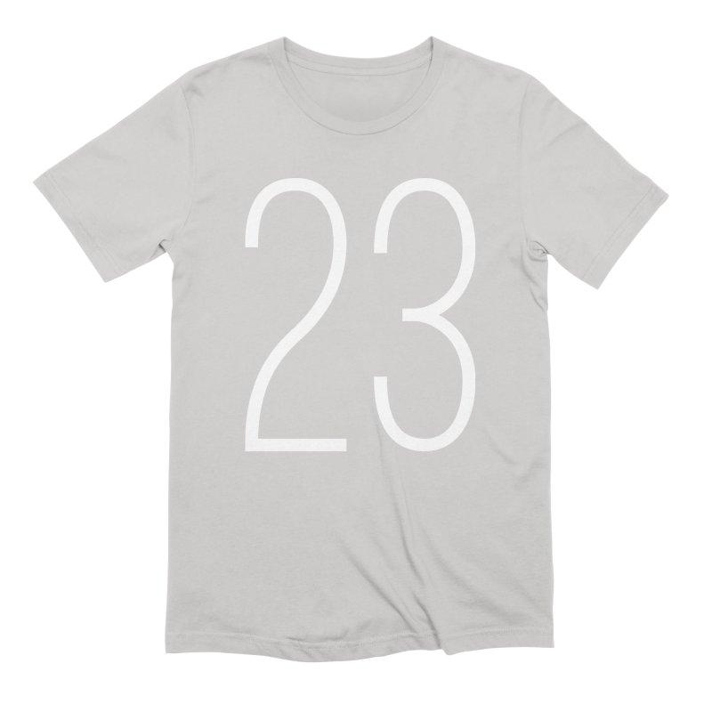 Twenty Three Men's T-Shirt by Shane Guymon Shirt Shop