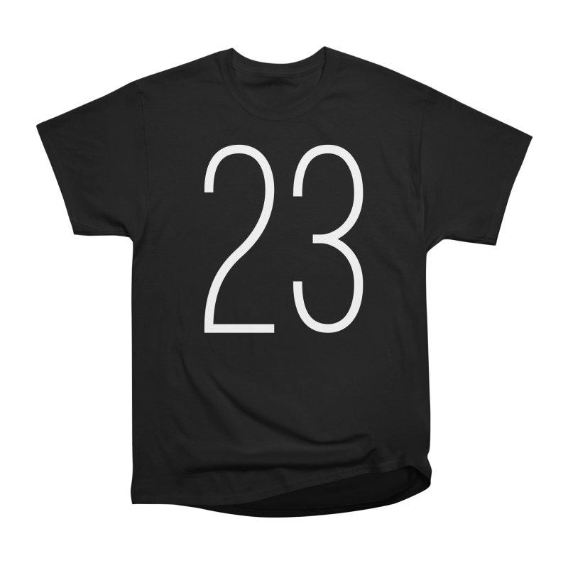 Twenty Three Men's Heavyweight T-Shirt by Shane Guymon