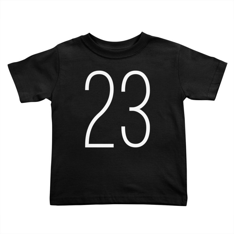 Twenty Three Kids Toddler T-Shirt by Shane Guymon