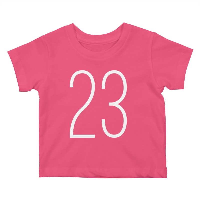 Twenty Three Kids Baby T-Shirt by Shane Guymon