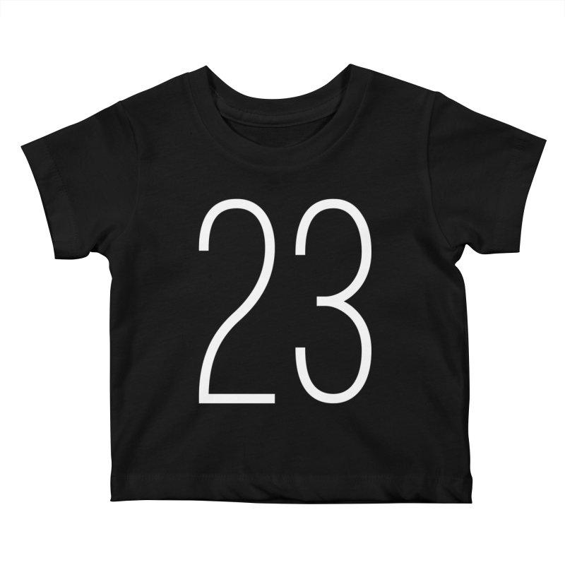 Twenty Three Kids Baby T-Shirt by Shane Guymon