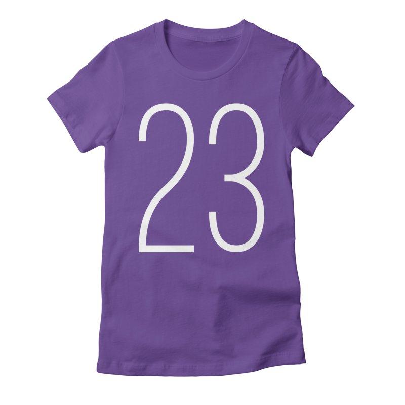 Twenty Three Women's Fitted T-Shirt by Shane Guymon