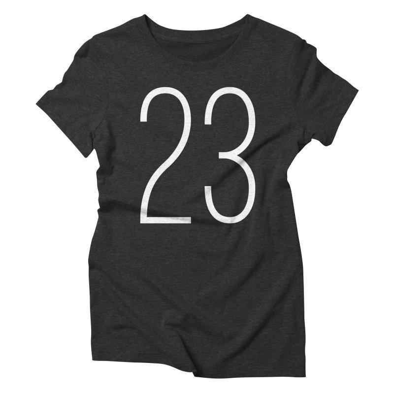 Twenty Three Women's Triblend T-Shirt by Shane Guymon