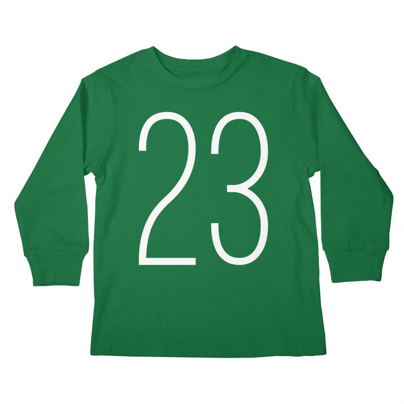 Twenty Three Kids Longsleeve T-Shirt by Shane Guymon