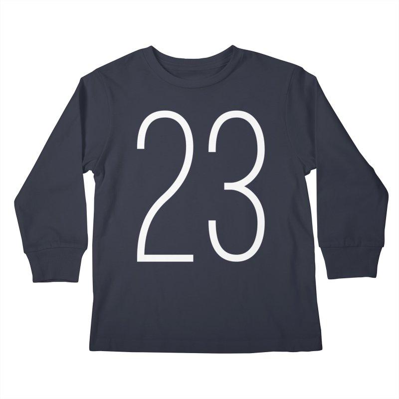 Twenty Three Kids Longsleeve T-Shirt by Shane Guymon Shirt Shop