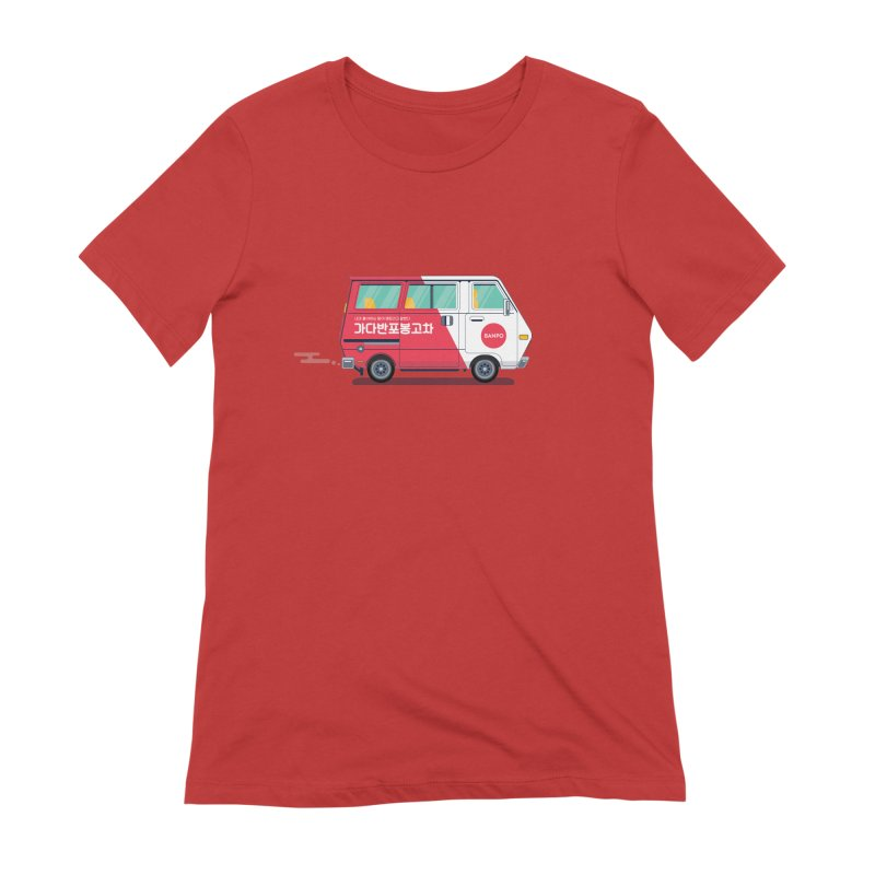 Banpo Women's Extra Soft T-Shirt by Shane Guymon