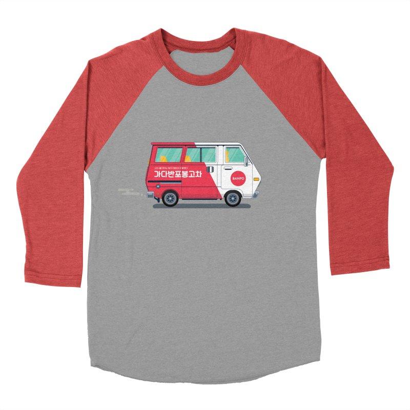 Banpo Women's Baseball Triblend T-Shirt by Shane Guymon