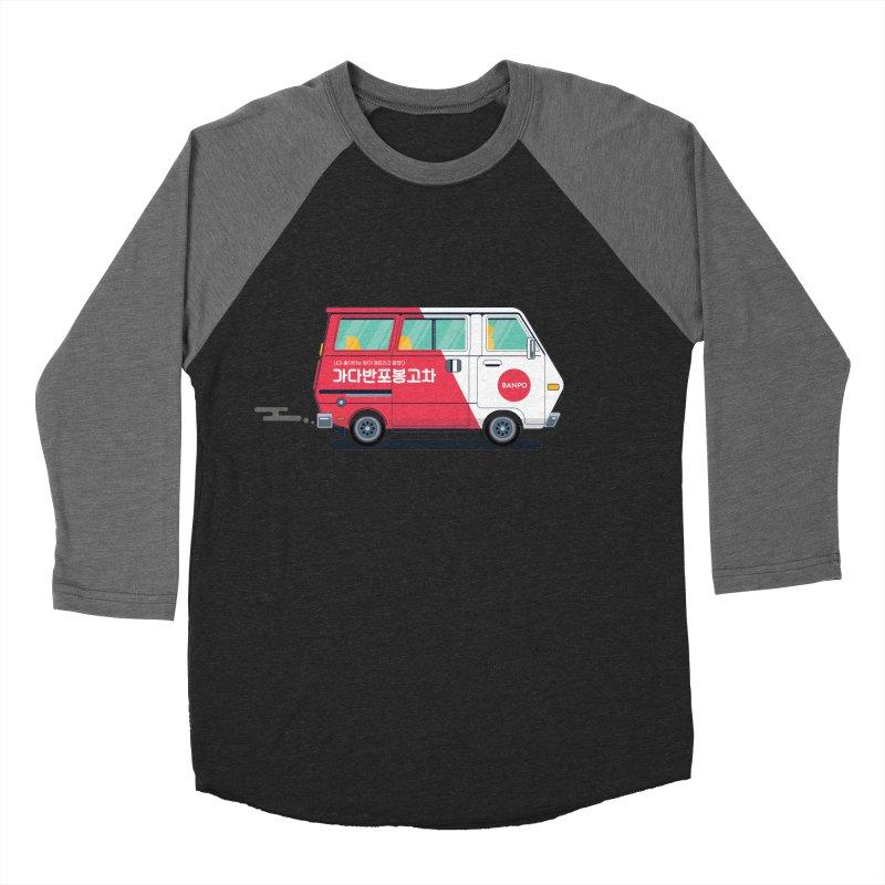 Banpo Men's Baseball Triblend Longsleeve T-Shirt by Shane Guymon