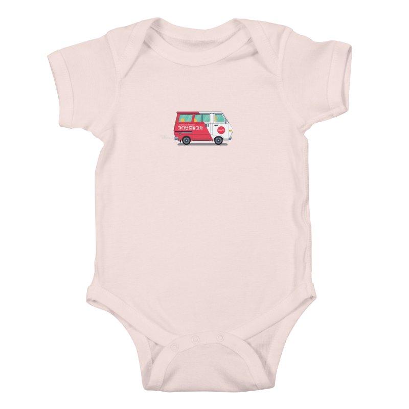 Banpo Kids Baby Bodysuit by Shane Guymon