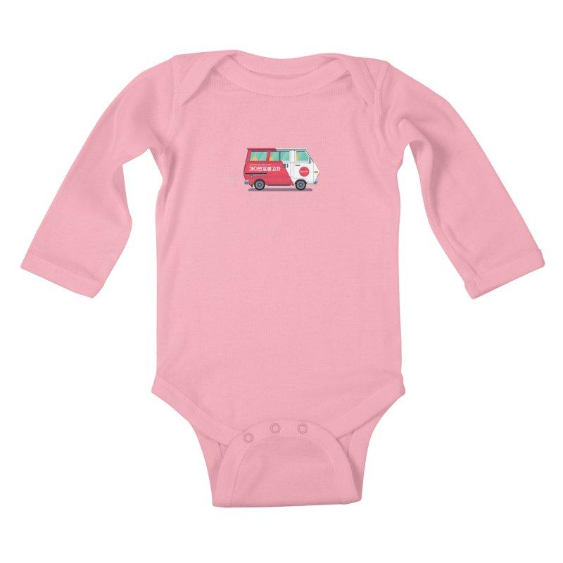Banpo Kids Baby Longsleeve Bodysuit by Shane Guymon