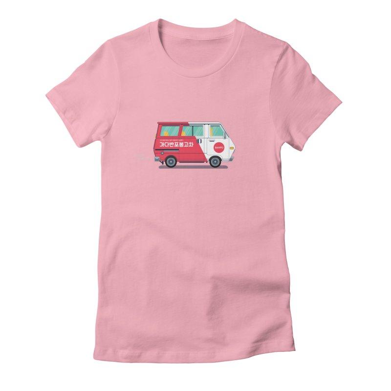 Banpo Women's Fitted T-Shirt by Shane Guymon