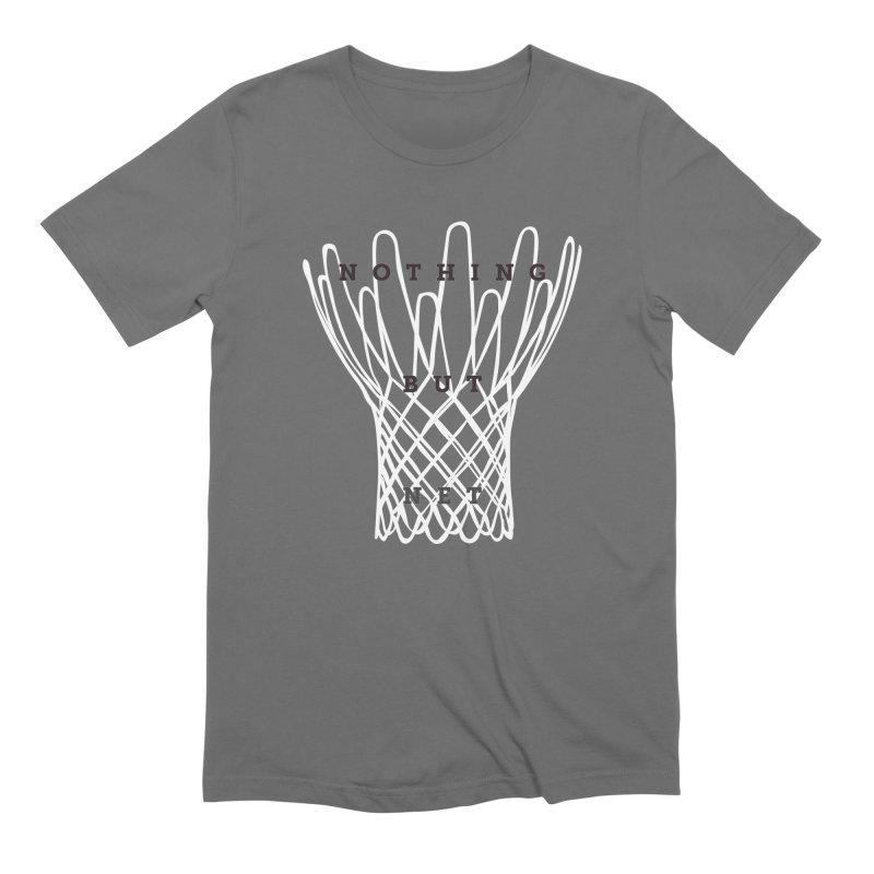 Nothing But Net Men's T-Shirt by Shane Guymon
