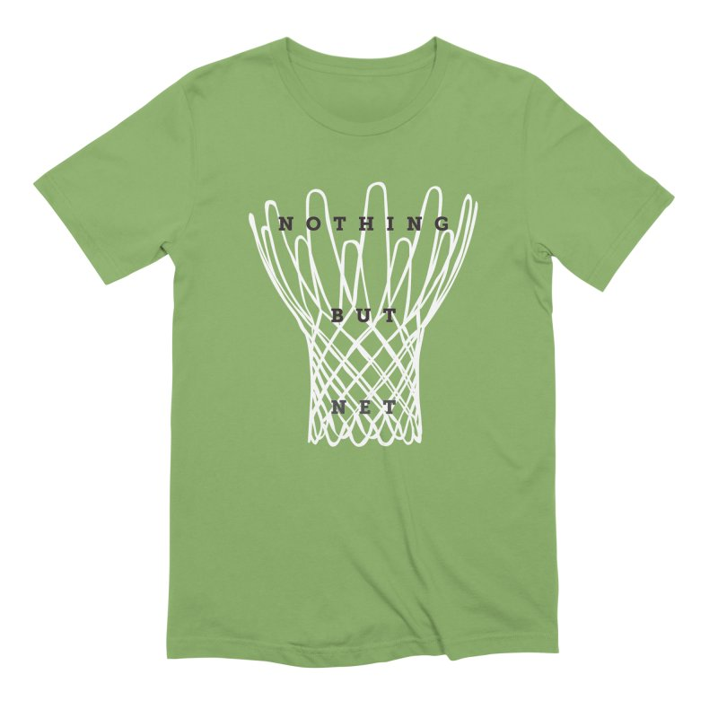 Nothing But Net Men's Extra Soft T-Shirt by Shane Guymon