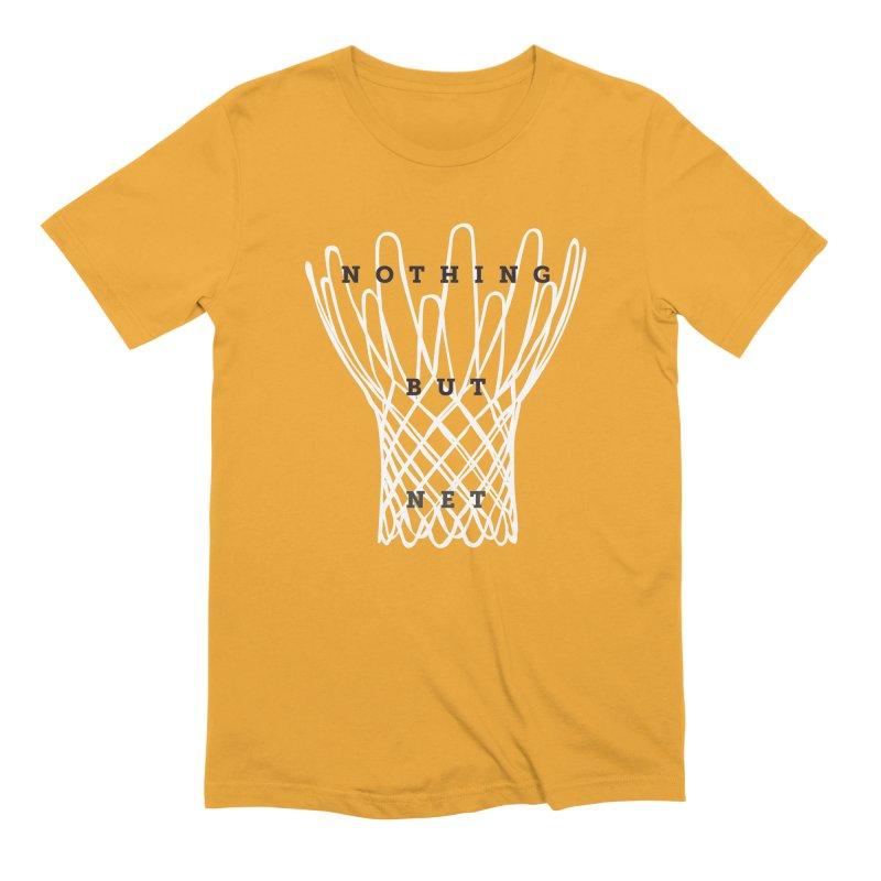 Nothing But Net Men's Extra Soft T-Shirt by Shane Guymon