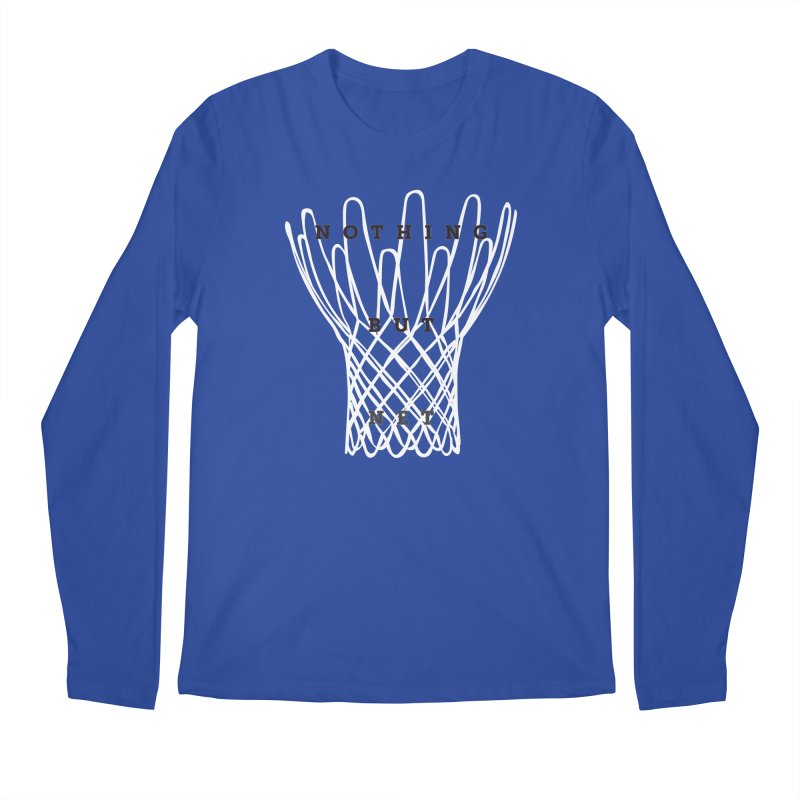 Nothing But Net Men's Regular Longsleeve T-Shirt by Shane Guymon