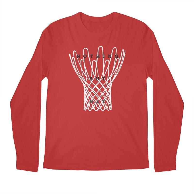 Nothing But Net Men's Regular Longsleeve T-Shirt by Shane Guymon