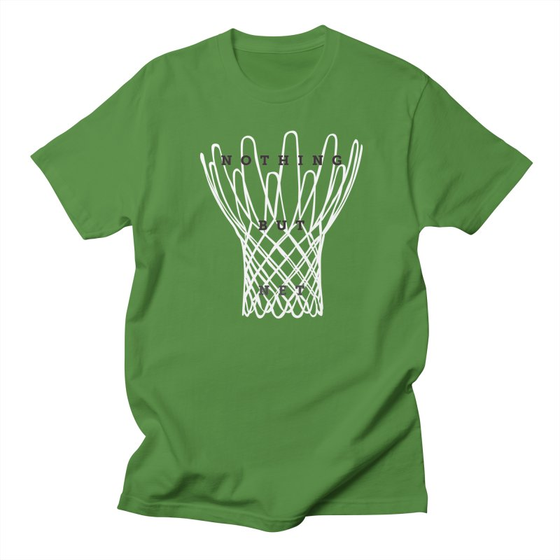Nothing But Net Men's Regular T-Shirt by Shane Guymon