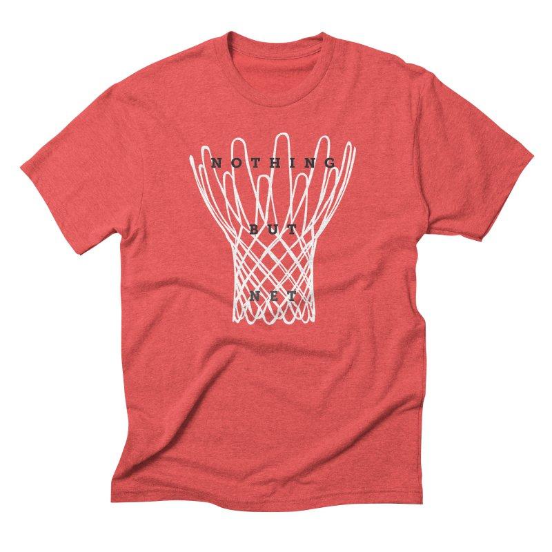 Nothing But Net Men's Triblend T-Shirt by Shane Guymon
