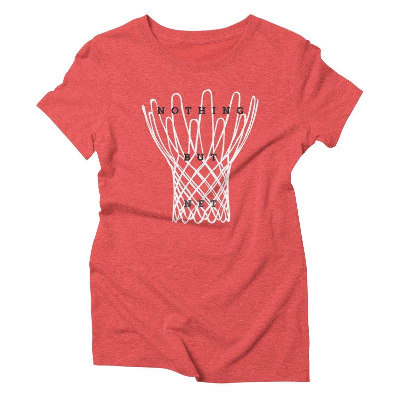 Nothing But Net Women's Triblend T-Shirt by Shane Guymon