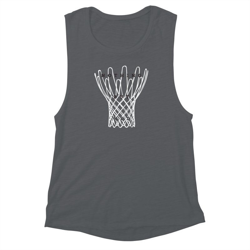 Nothing But Net Women's Muscle Tank by Shane Guymon