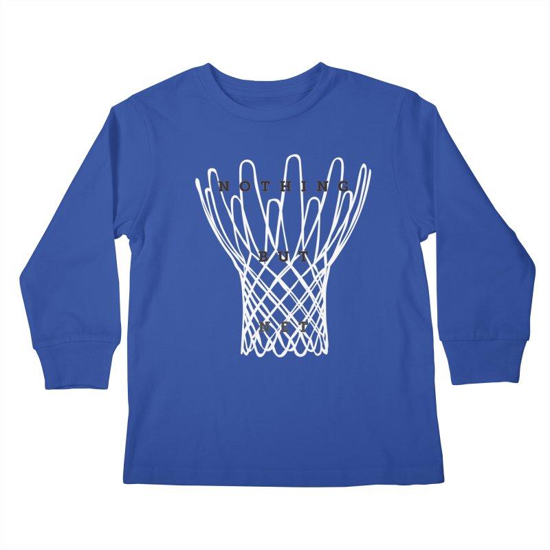 Nothing But Net Kids Longsleeve T-Shirt by Shane Guymon