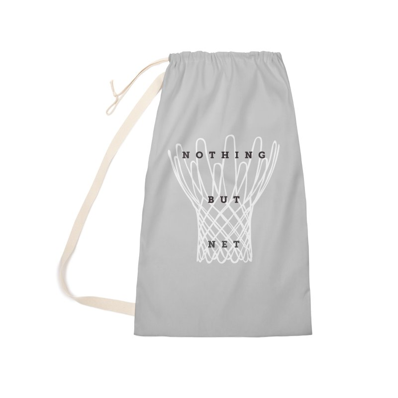 Nothing But Net Accessories Laundry Bag Bag by Shane Guymon