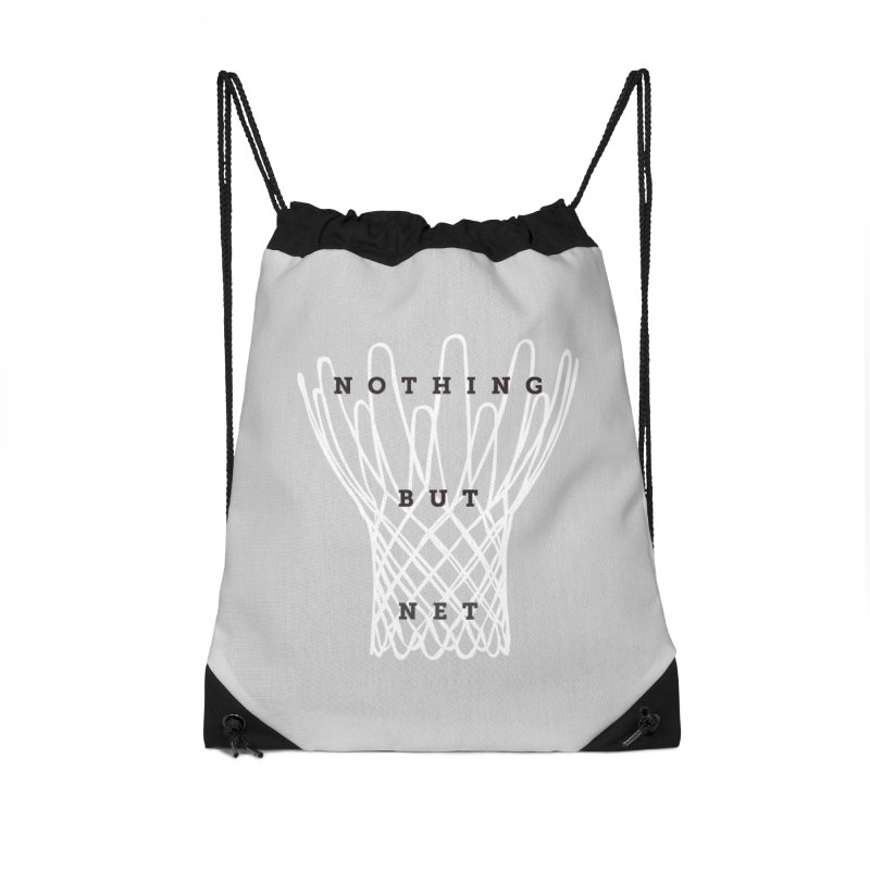 Nothing But Net Accessories Drawstring Bag Bag by Shane Guymon