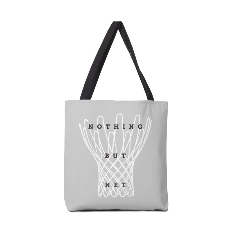 Nothing But Net Accessories Bag by Shane Guymon Shirt Shop