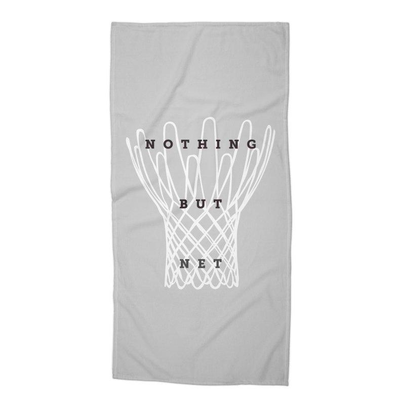 Nothing But Net Accessories Beach Towel by Shane Guymon Shirt Shop