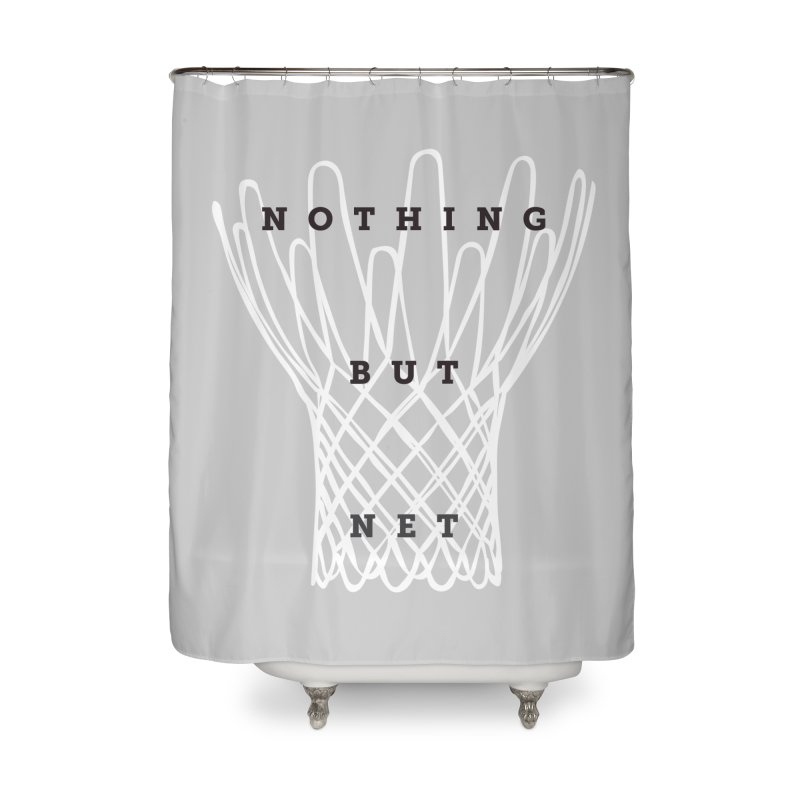 Nothing But Net Home Shower Curtain by Shane Guymon