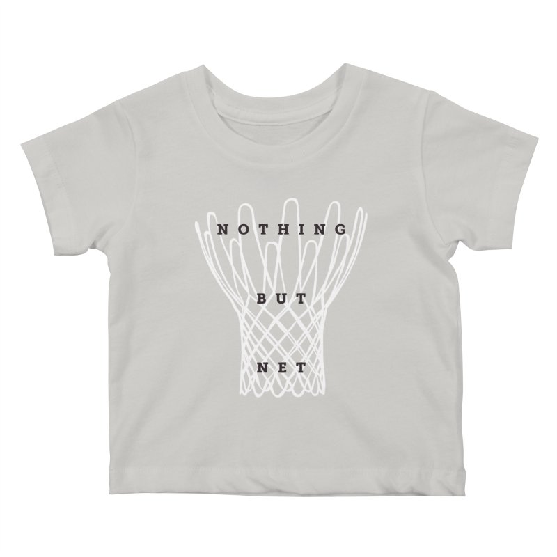 Nothing But Net Kids Baby T-Shirt by Shane Guymon