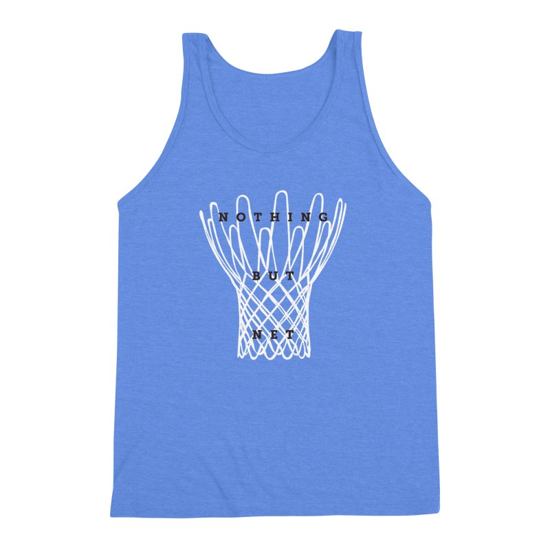 Nothing But Net Men's Triblend Tank by Shane Guymon