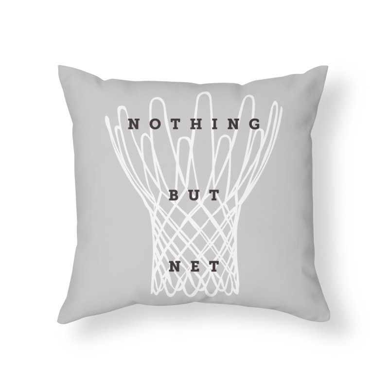 Nothing But Net Home Throw Pillow by Shane Guymon