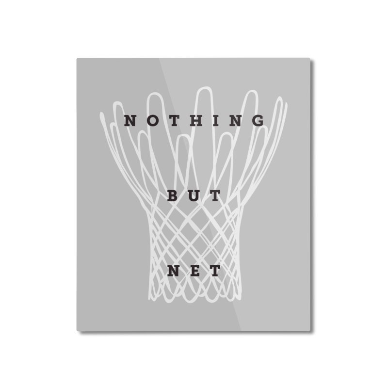 Nothing But Net Home Mounted Aluminum Print by Shane Guymon