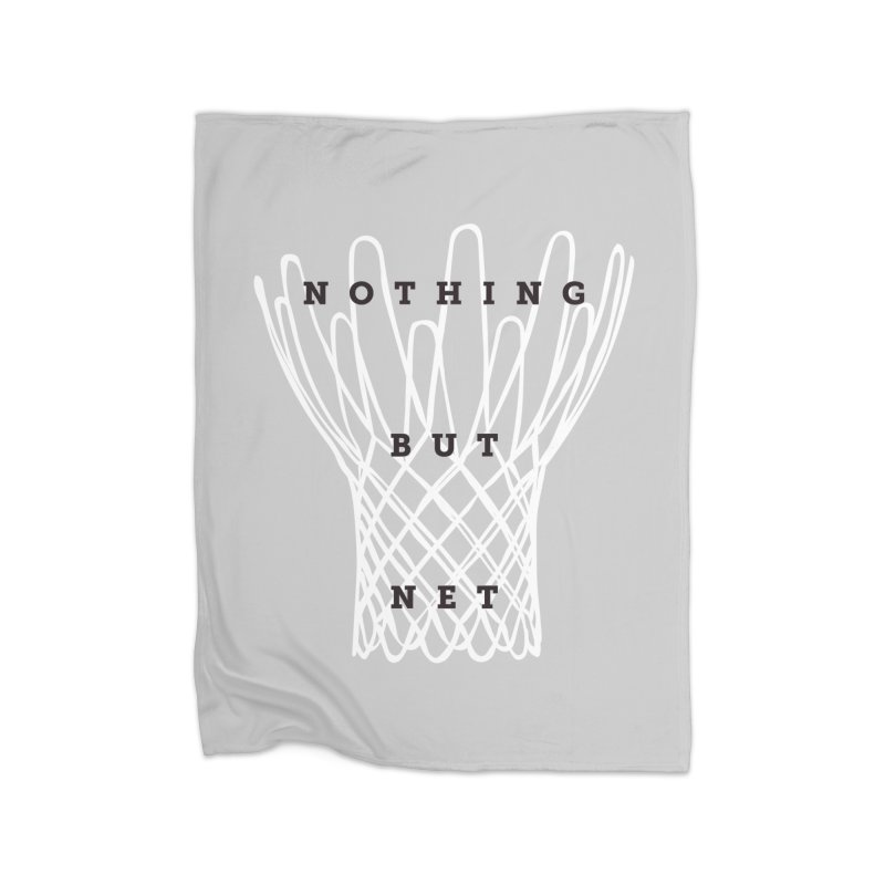 Nothing But Net Home Blanket by Shane Guymon