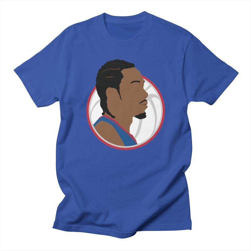 Kawhi Leonard Men's T-Shirt by Shane Guymon Shirt Shop