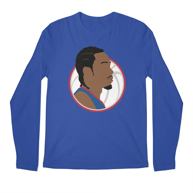 Kawhi Leonard Men's Longsleeve T-Shirt by Shane Guymon Shirt Shop