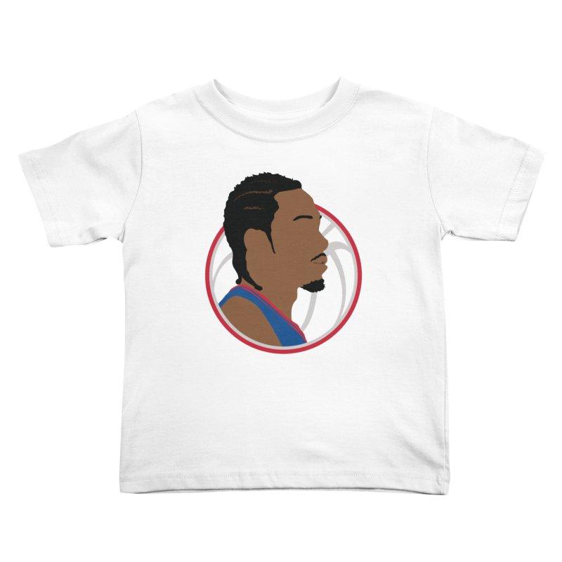 Kawhi Leonard Kids Toddler T-Shirt by Shane Guymon Shirt Shop