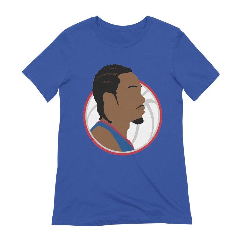 Kawhi Leonard Women's T-Shirt by Shane Guymon Shirt Shop