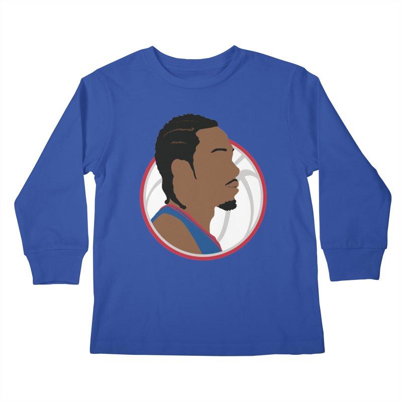 Kawhi Leonard Kids Longsleeve T-Shirt by Shane Guymon Shirt Shop