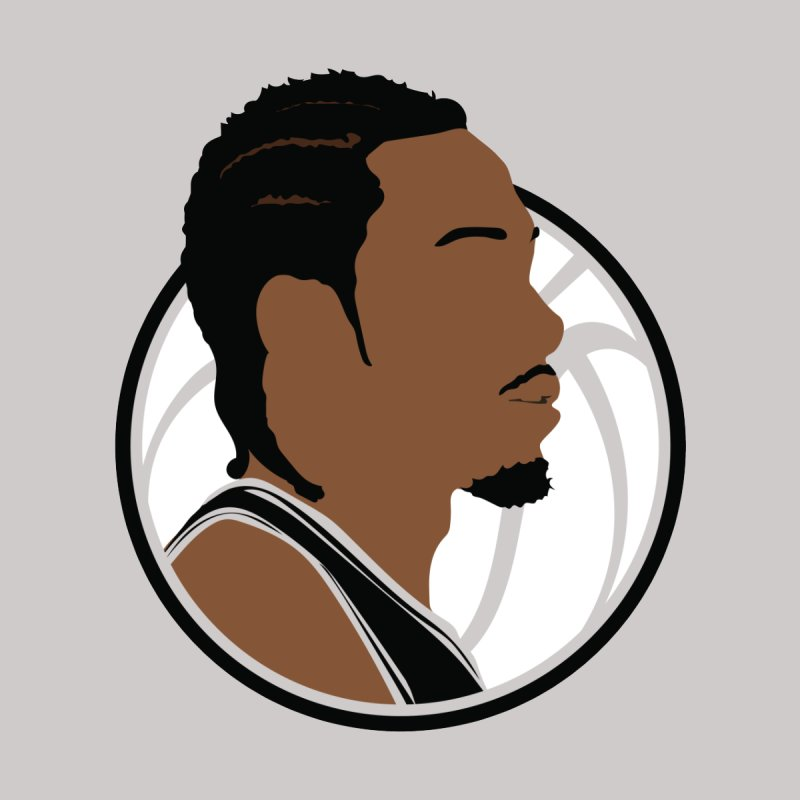 Kawhi Leonard Men's T-Shirt by Shane Guymon