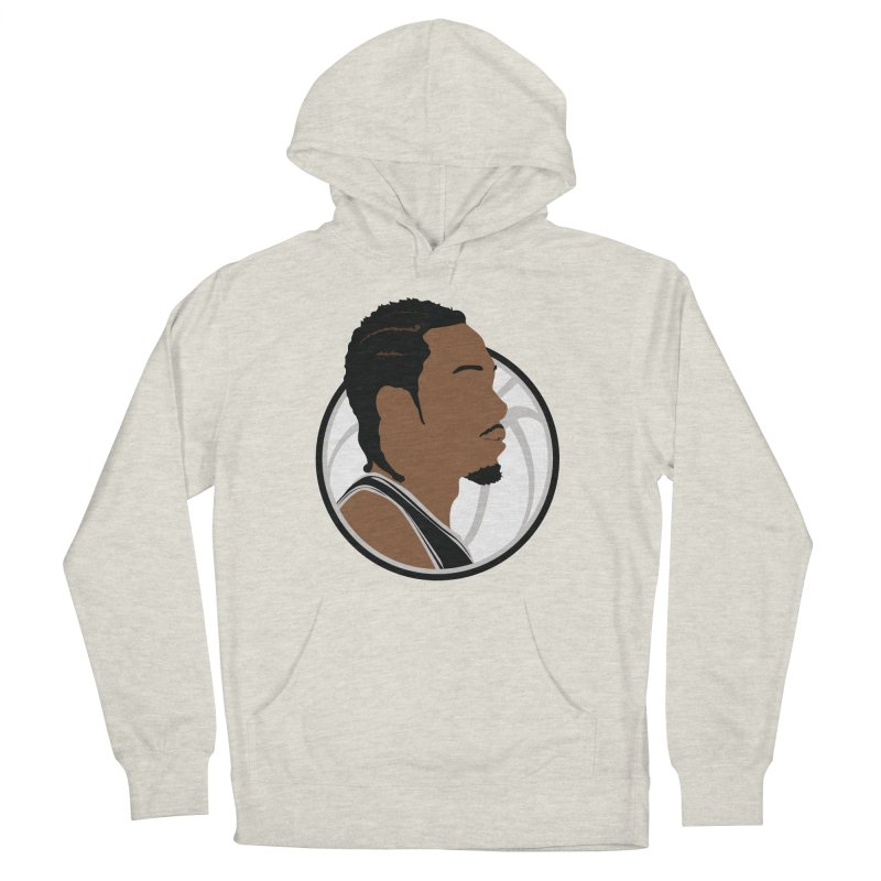 Kawhi Leonard Men's French Terry Pullover Hoody by Shane Guymon